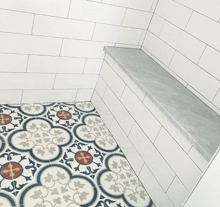 Shower Those Cement Tiles (with love)!